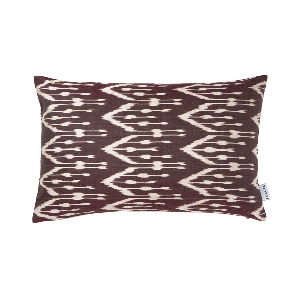 iKat Silk Cushion Cover - Hackney - POLKRA