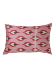 Peony iKat Silk Cushion Cover - POLKRA
