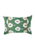 Bell Flower iKat Silk Cushion Cover