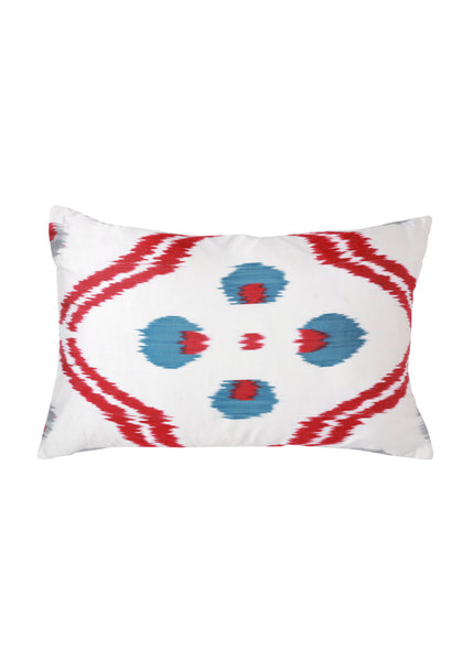 Amaryllis iKat Silk Cushion Cover - POLKRA
