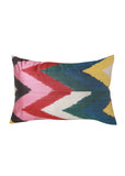 Flame Lily iKat Silk Cushion Cover