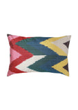 Flame Lily iKat Silk Cushion Cover - POLKRA