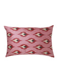 Peony iKat Silk Cushion Cover