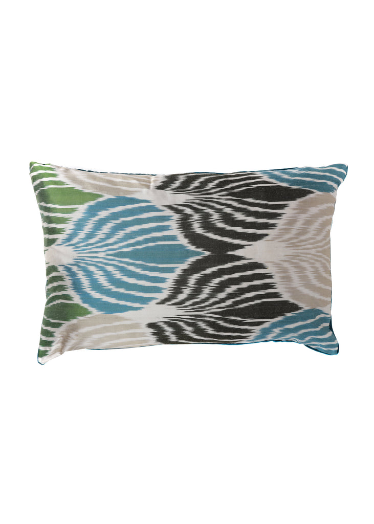 Jasmine iKat Silk Cushion Cover - POLKRA