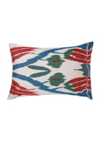 Sweet Sultan iKat Silk Cushion Cover - POLKRA