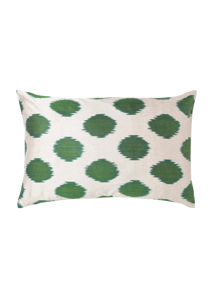 Sweet Pea iKat Silk Cushion Cover - POLKRA