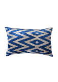 Hop ikat Velvet Cushion Cover - POLKRA