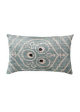 Bee Balm iKat Velvet Cushion Cover - POLKRA