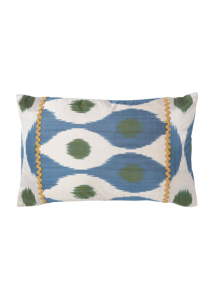 iKat Silk Cushion Cover - Lupin - POLKRA