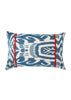 Mimosa ikat Silk Cushion Cover