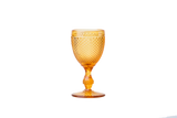 White Wine Glass Set - Amber