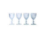White Wine Glass Set - Clear - POLKRA