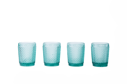 Glass Tumbler Set - Mint Green