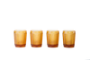 Glass Tumbler Set - Amber