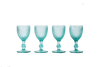 Red Wine Glass Set - Mint Green