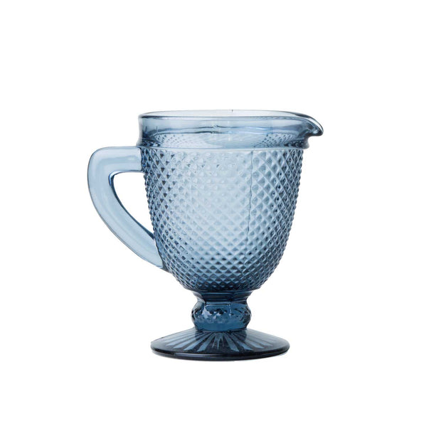 Glass Pitcher - Grey