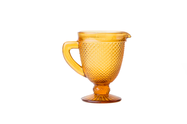 Glass Pitcher - Amber