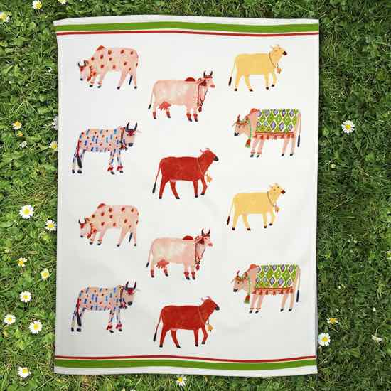 Artist Collection Tea Towels - Individual - POLKRA