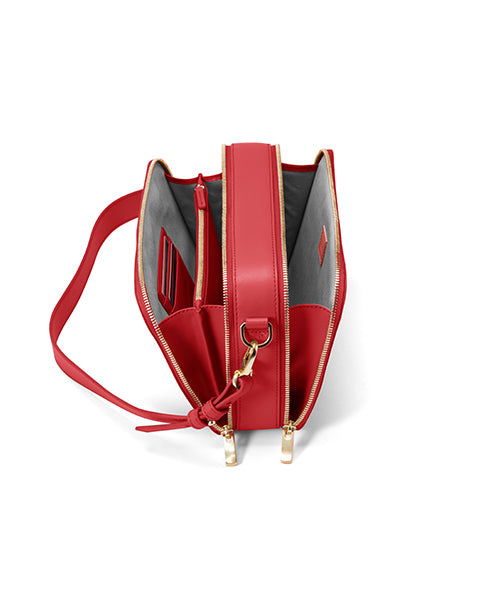 SW1204 Crossbody Double Zip