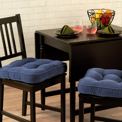 Dining Chair Pads Set Of Two Cushions Direct