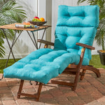 "Coastal Collection 72"" Outdoor Chaise Cushion"