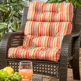 Coastal Collection Highback Outdoor Chair Cushion