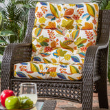 "44"" x 21"" Outdoor Highback Chair Cushion"