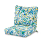 Coastal Collection Outdoor Deep Seat Cushion Set