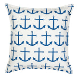 "20"" Square Toss Pillow - Sea/Marine Patterns"