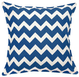"20"" Square Chevron Pattern Toss Pillow"