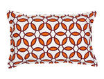 "14"" x 22"" Rings Pattern Toss Pillow"
