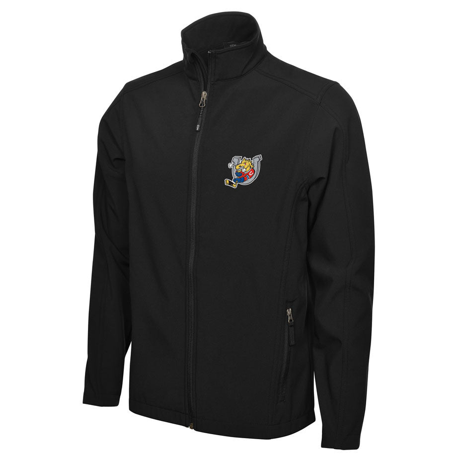 Barrie Colts Adult Mens Black Jacket