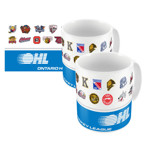 Windsor Spitfires - 16oz. White Travel Mug Huntsville