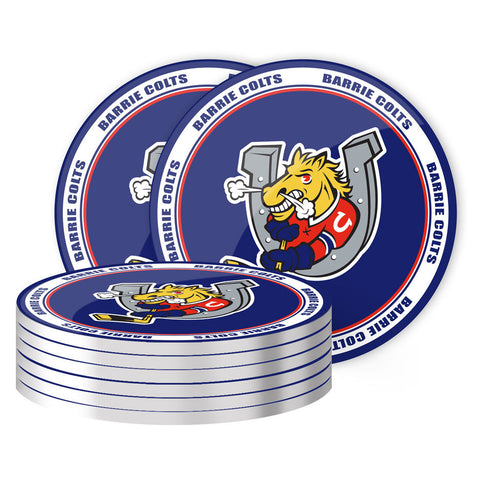 Barrie Colts - 8 Pack Coaster Set