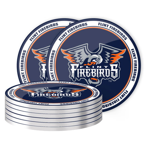 Flint Firebirds - 8 Pack Coaster Set