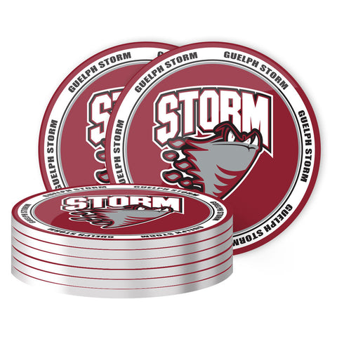 Guelph Storm - 8 Pack Coaster Set