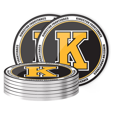 Kingston Frontenacs - 8 Pack Coaster Set