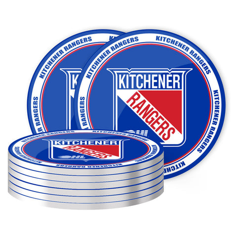 Kitchener Rangers - 8 Pack Coaster Set