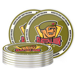 North Bay Battalion Coaster Set
