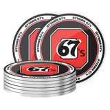 Ottawa 67's Coaster Set