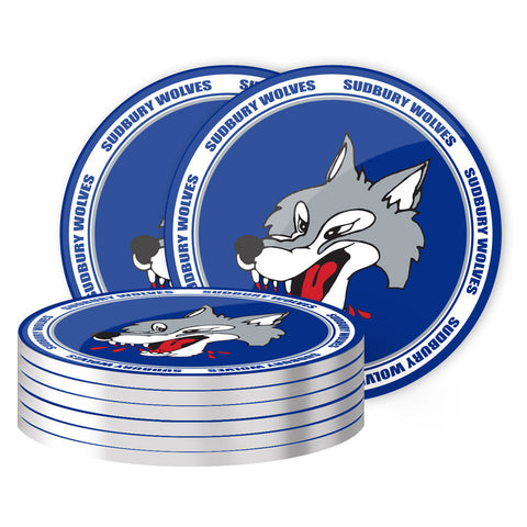 Sudbury Wolves - 8 Pack Coaster Set