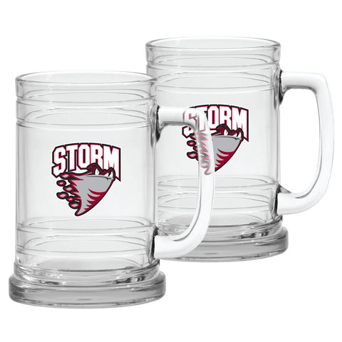 Guelph Storm 16oz Woolie Travel Mug Full Wrap