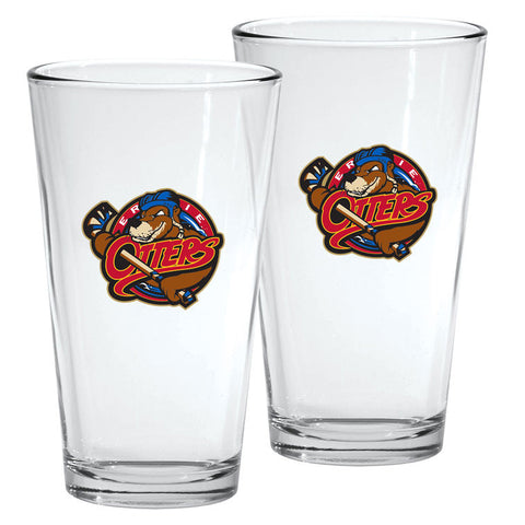 Erie Otters - 2pk. 16oz Mixing Glass Set