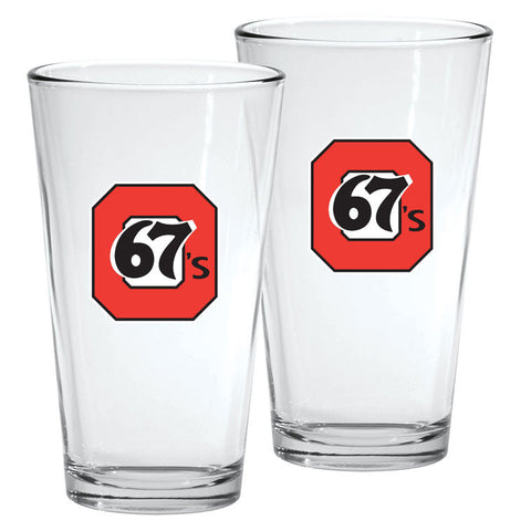 Ottawa 67's - 2pk. 16oz Mixing Glass Set