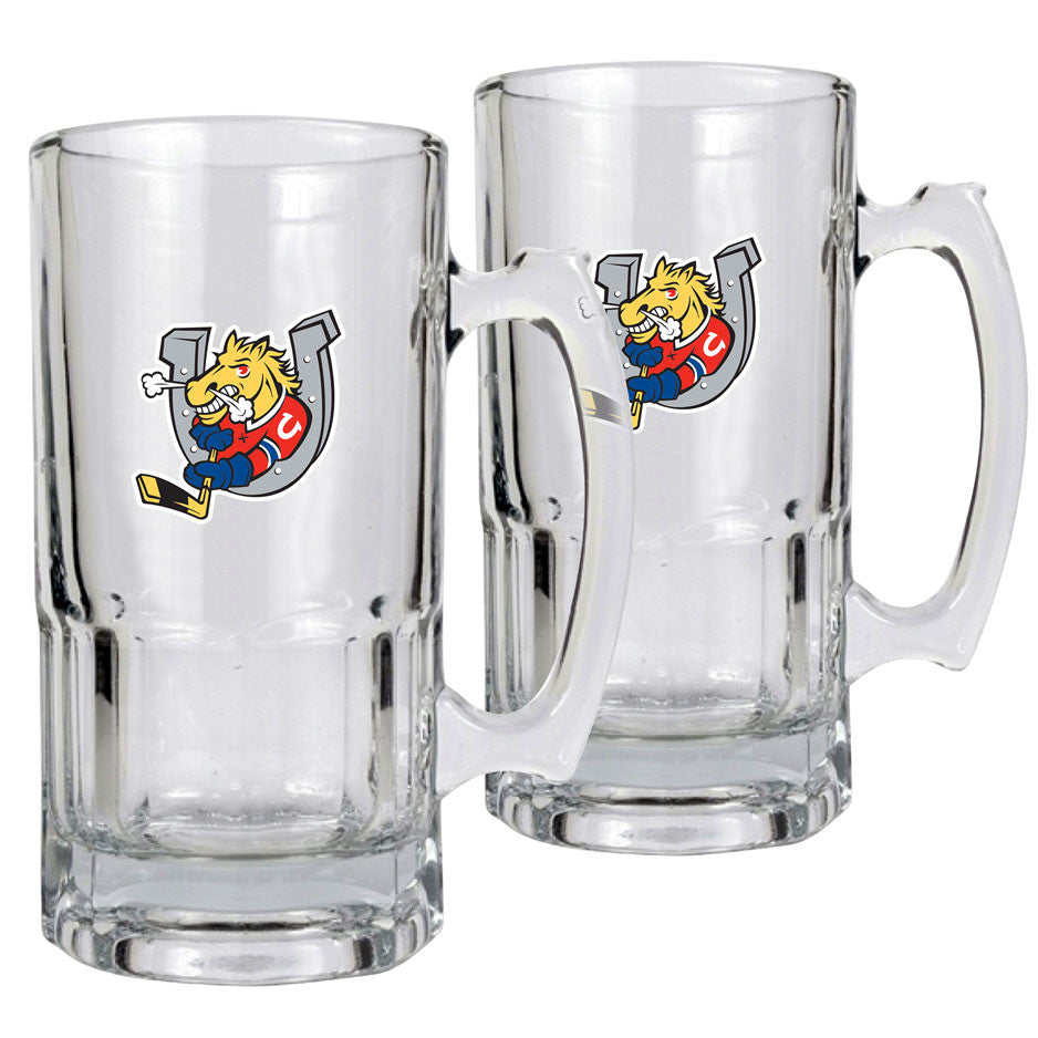 Barrie Colts - 2pk 34oz. Macho Mug Set