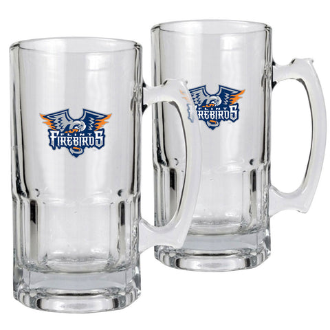 Flint Firebirds - 2pk 34oz. Macho Mug Set