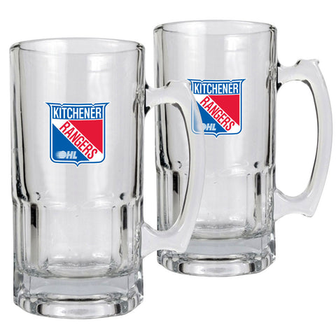 Kitchener Rangers - 2pk 34oz. Macho Mug Set