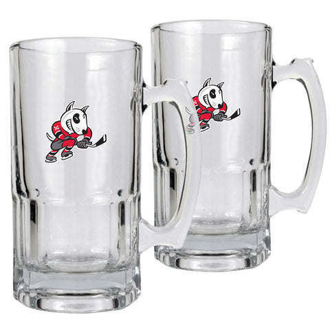 Niagara Ice Dogs - 2pk 34oz. Macho Mug Set