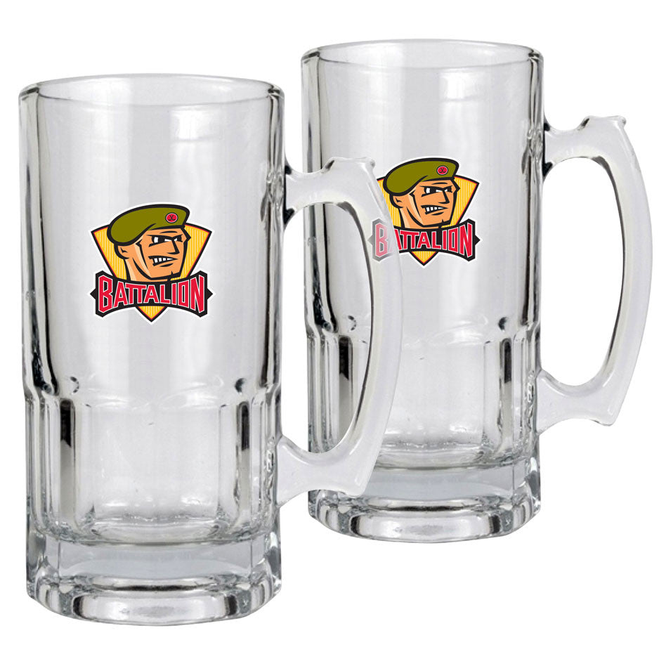 North Bay Battalion - 2pk 34oz. Macho Mug Set