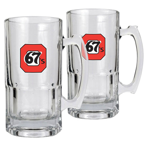 Ottawa 67's - 2pk 34oz. Macho Mug Set